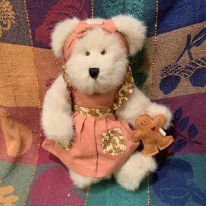 "Boyds Bears Mary Kate Gingerbeary 8"" Plush Bear"